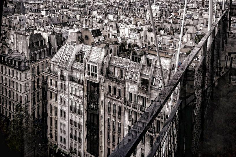 Immeubles parisiens sur Martine Affre Eisenlohr