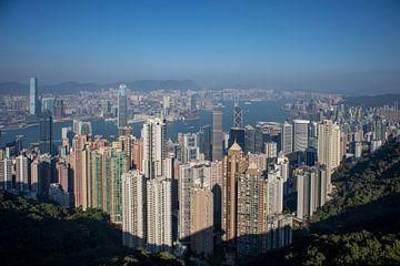 Victoria Peak, der Standpunkt von Hongkong von Fulltime Travels