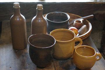 Terracotta Potten 1 van Richard Pruim