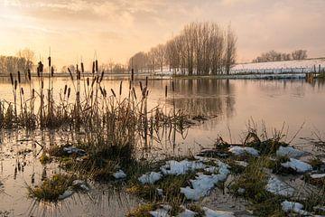Net voor zonsondergang van Ruud Morijn