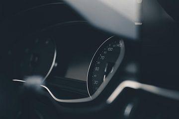 Dashboard van Audi A4 van Felix Van Lantschoot