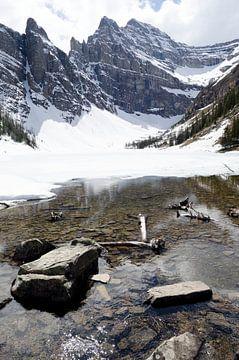 Rocky Mountains Banff (Lake Louise regio) van Ohana