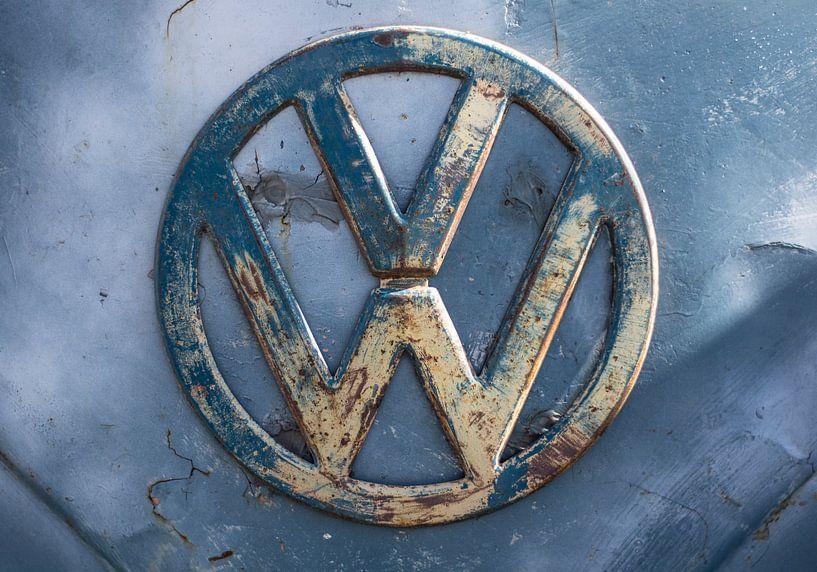 Volkswagen retro/vintage logo van Niels Hemmeryckx
