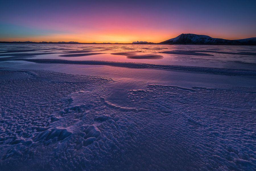 Zonsopkomst op Andoya - Vesteralen, Noorwegen