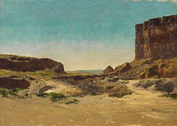 Carlos de Haes-Weg naar zee, Antiek landschap