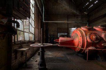 Roter Stahl von Kristof Ven