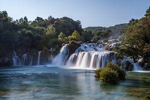 Krka Watervallen van Michel Kempers