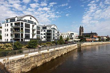 Magdeburg Uferpromenade