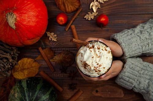 herfst pumckin spicy latte