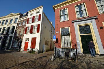 Nieuwegracht in Utrecht met Quintijnsgasthuis sur In Utrecht