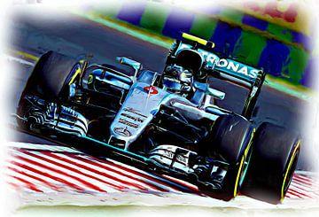 Nico Rosberg - Formel-1-Weltmeister 2016 von Jean-Louis Glineur alias DeVerviers