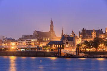 Het steen en de Sint-Pauluskerk in Antwerpen van Dennis van de Water
