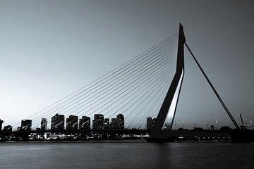 Rotterdam. Le pont Erasmus. sur Gerrit de Heus
