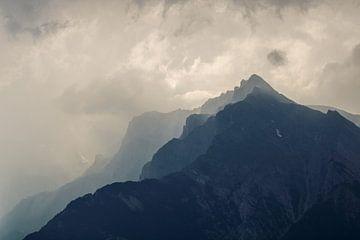 Berg landschap van Natalie van der Hoeven