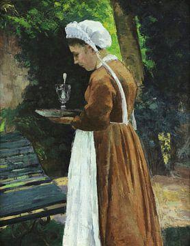 La servante, Camille Pissarro sur