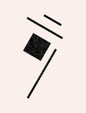 Retro jaren 20 vintage  geometric shape . Nr.14