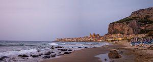 Panorama, Cefalu, Sicilie, Italie