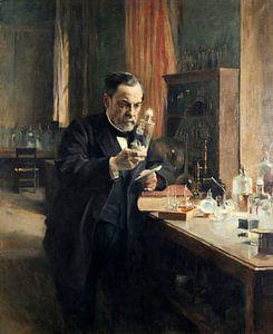 Louis Pasteur in seinem Laboratorium, Albert Edelfelt