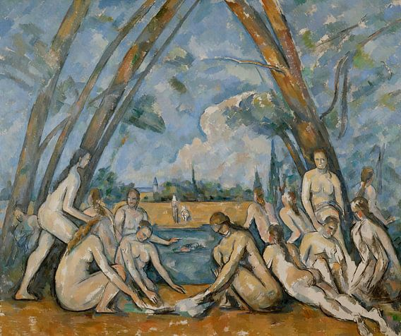 Paul Cézanne - The Large Bathers