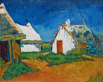 Witte huisjes bij Saintes-Maries, Vincent van Gogh, Vincent van Gogh