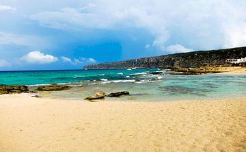 Strand in Ibiza van Gergana Kirovska