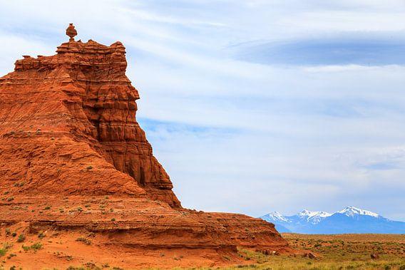 Painted Desert and the San Francisco Peaks, Arizona