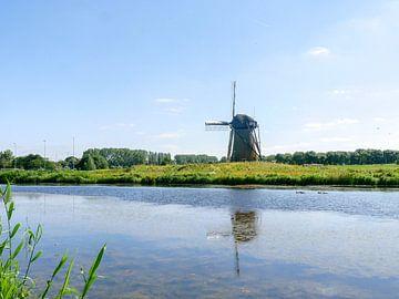 Lonely mill van Thomas Hofman