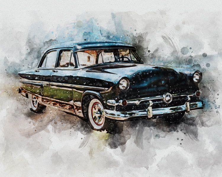 Ford Customline van Pictura Designs