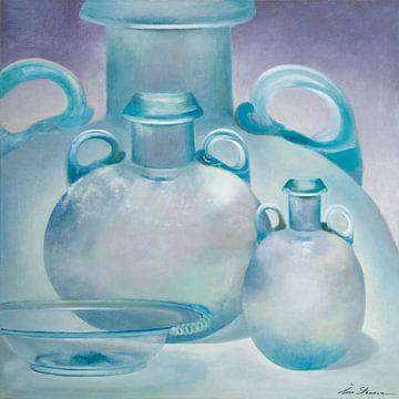 Romeinse glazen vazen
