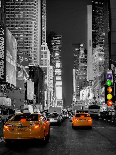 New York Times Square Taxi van Carina Buchspies