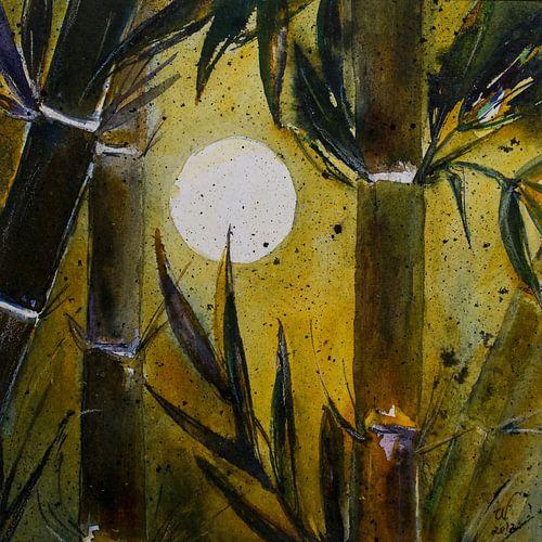 Bamboe in het licht