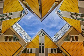 Kubus sky van Robert Jan Smit