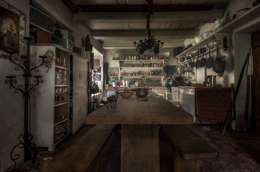 De keuken van de boswachter