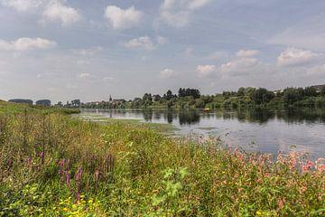 Geulle aan de Maas in Zuid-Limburg van John Kreukniet
