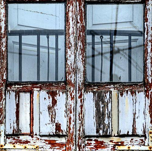 Detail van een venster van