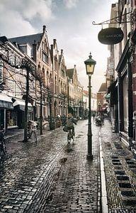 Na de bui, Haarlem Warmoesstraat.