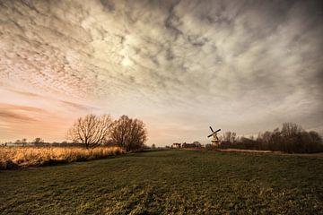 Hollands landschap van Bert-Jan de Wagenaar