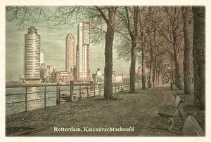 Carte postale d'époque: le quai de Katendrecht