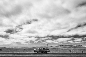 Chevrolet op Panamerican highway, Peru van Ron van der Stappen