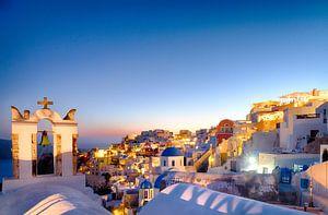 Oia Sunset IV, Santorini von