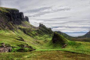 Landschap in Schotland.