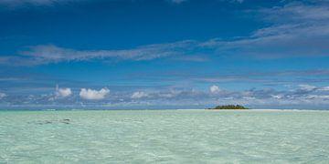 Lagoon Aitutaki sur Laura Vink