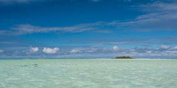Lagune Aitutaki van Laura Vink