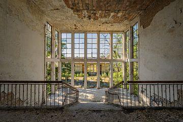 Verlassene Orte - Treppenhaus von Maikel Saalmink