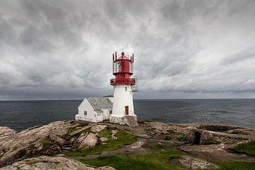 Leuchtturm Lindesnes Fyr von Matthias Nolde