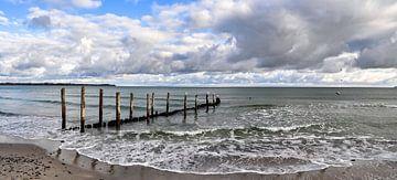 Stürmische Ostsee in Juliusruh auf Rügen von GH Foto & Artdesign