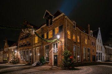 Weihnachten in Deventer II von Martin Podt