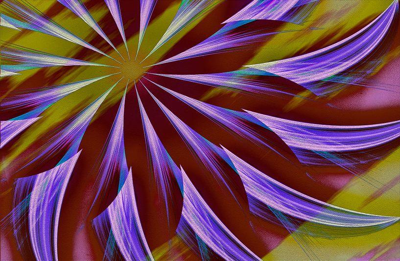 Digital Cornflower van Rosi Lorz