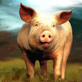 Schwein von Andrea Meyer
