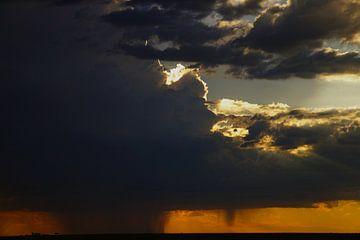Regensturm und bedrohliche Wolken von Anne Hermans
